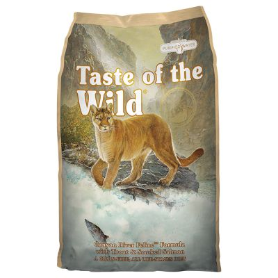 Taste of The Wild CANYON RIVER CAT SALMN 5LB